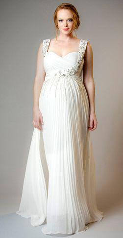 66 best pregnancy wedding dress images on pinterest wedding pregnancy wedding gowns junglespirit Choice Image