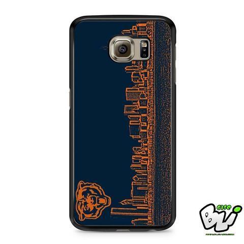 Blue Chicago Bear Samsung Galaxy S6 Case