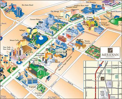 Strip Map Viva Las Vegas Pinterest Hotels Las Vegas And Maps