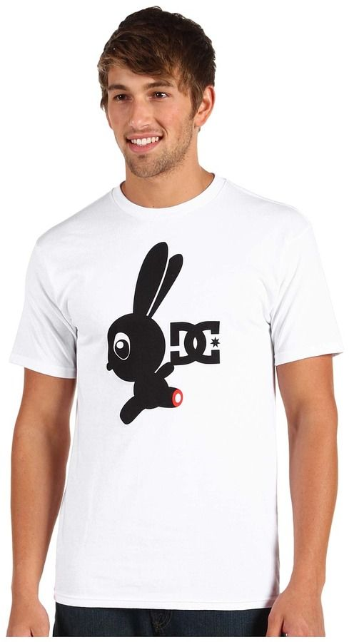 DC - Rob Drydek 3D UV Bunny Tee (White) - Apparel Sold Out thestylecure.com