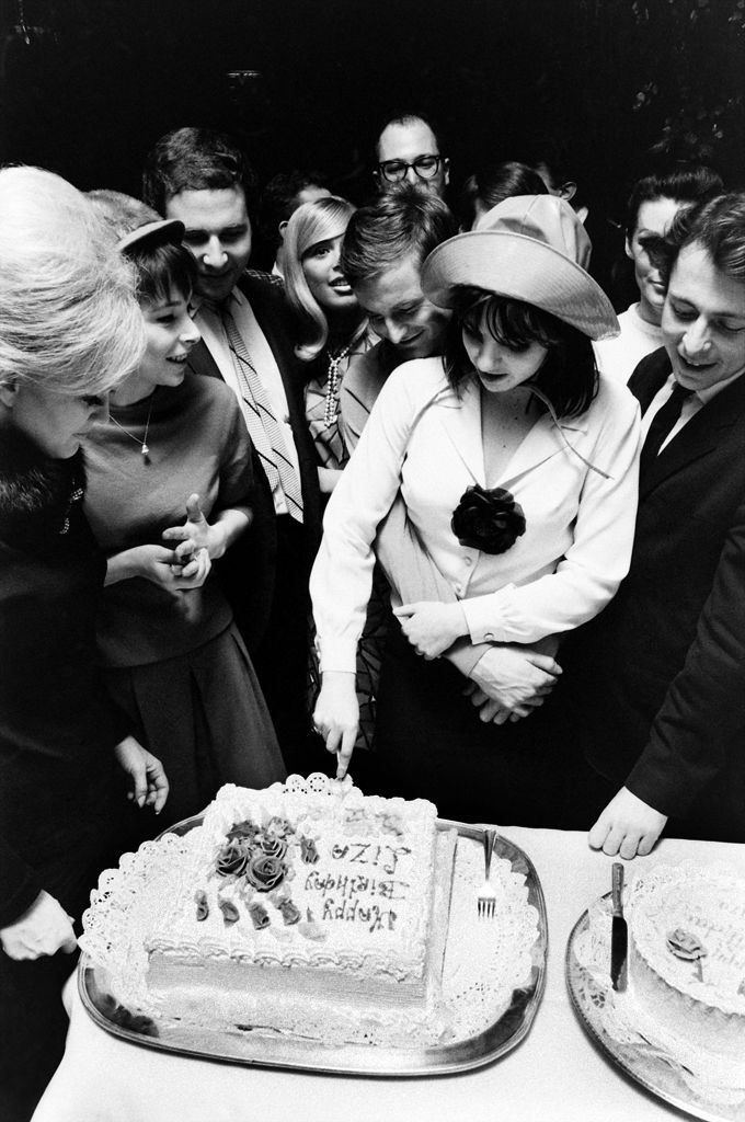 19-year-old Liza Minnelli cuts her birthday cake in 1965.