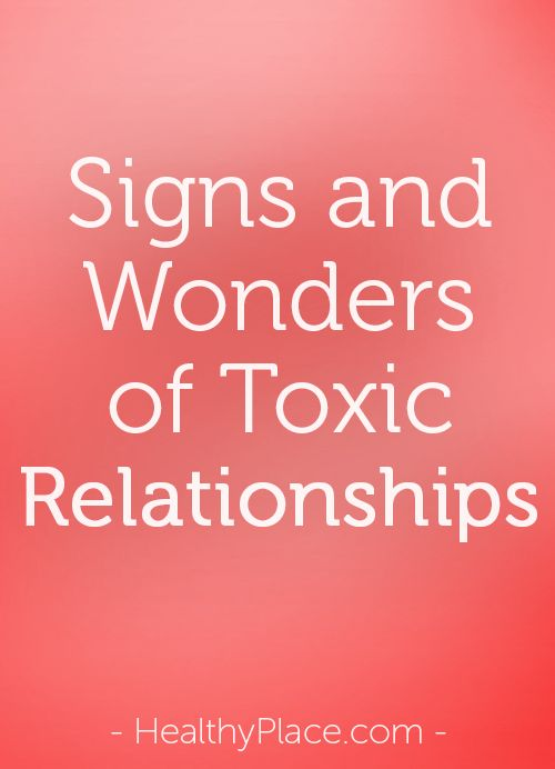 How To Spot A Toxic Relationship