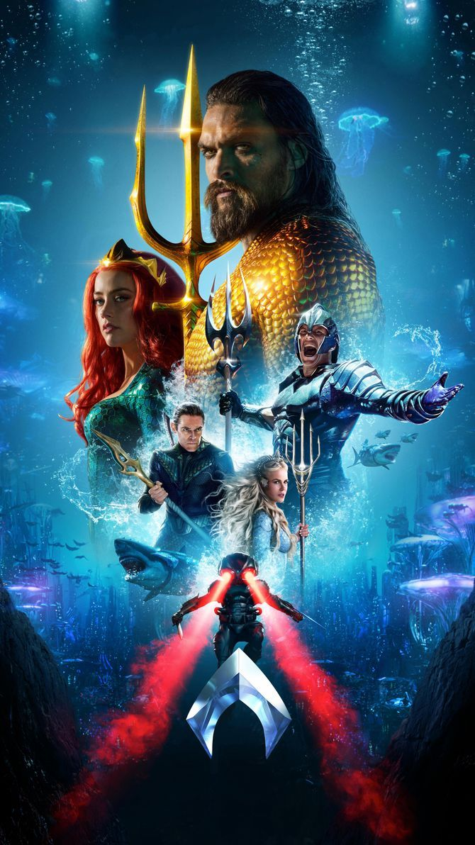 Aquaman 2018 Phone Wallpaper Movie Mania Aquaman 2018 Aquaman