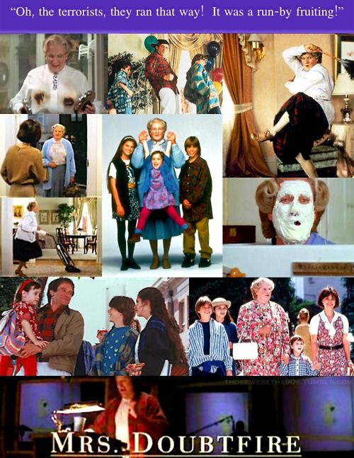 Mrs. Doubtfire. LOVE it!90 S, 90S Kids, Doubtfire 90S, Mrs Doubtfire, Movie Memories, Doubtfire 1993, 80S 90S, Favorite Movie, 1990S Uk
