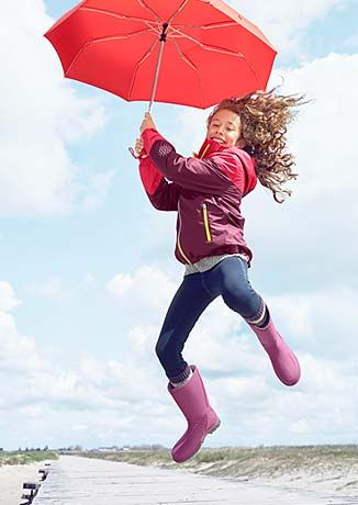 Dážď a vietor nemajú šancu: Oblečenie do dažďa