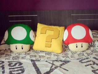 cojines personalizados setas Super Mario