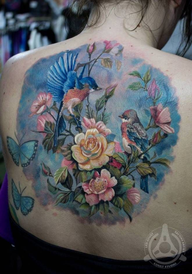 17 best images about nature tattoo ideas on pinterest for Garden tattoos designs