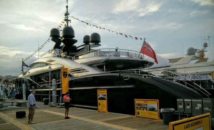 The last day of the Palm Beach Boat Show #PBIBS2016