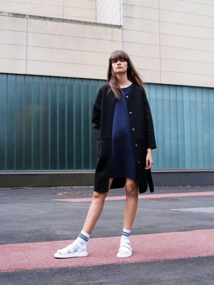 Maya Coat. #urban #fashion #coat #highsocks