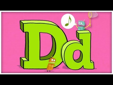 "▶ ABC Song: The Letter D, ""Dee Doodley Do"" by StoryBots - YouTube"