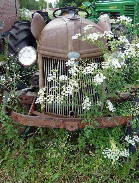 Ford Tractor - Biking Across Kansas 2008