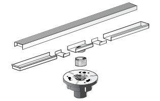 : Linear and Trench Drain Systems for your shower, pool surrounding, patios, balconies, driveways, and storm drainage.