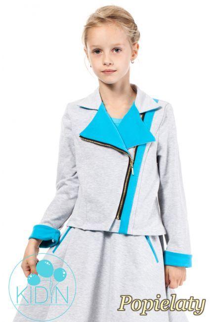 Zasuwana dresowa kurtka dziecięca.  #cudmoda #kurtka #odzież #ubrania #płaszcz #dziecięce #dziecięca #dziewczęca #moda #styl #fashion #kids
