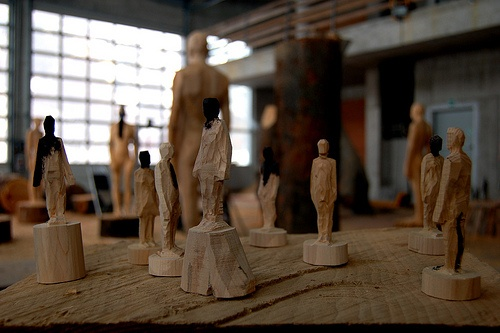 Making of-  Aron Demetz modellini sculture per Biennale d'Arte di Venezia 2009