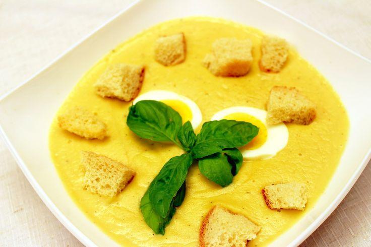 Сливочный крем-суп - рецепт приготовления