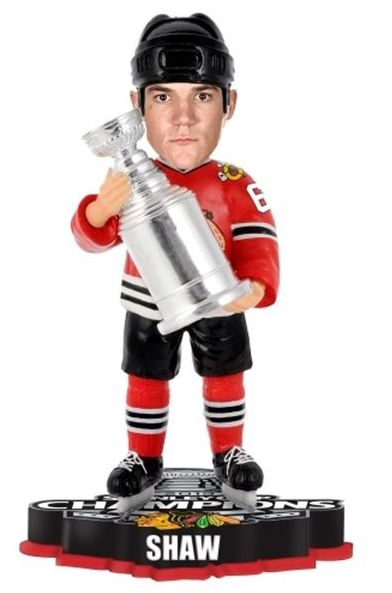 Andrew Shaw Chicago Blackhawks 2013 NHL Stanley Cup Final Champions Player Trophy Bobblehead