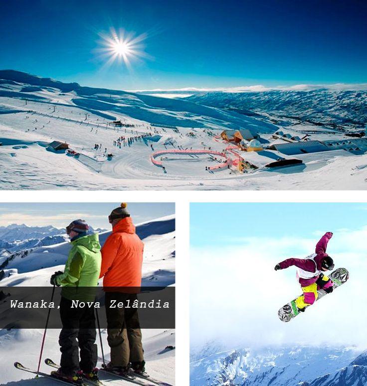 Para os snowlovers, a cidade conta com 4 áreas de esqui à 40 minutos da cidade, incluindo o #SnowParkNZ (ótimo para manobras). Para os intermediários, #TrebleCone é a melhor escolha, com neve íngrime e terreno esquiável. Se você está começando, o #CardronaAlpineResort é o melhor destino, com menos neve e bantante espaço para praticar! #snow #snowboard #snowboarder #skiboarder #ski #esqui #wanaka #welcometothenewage #theend #sitetheend #esquilovers
