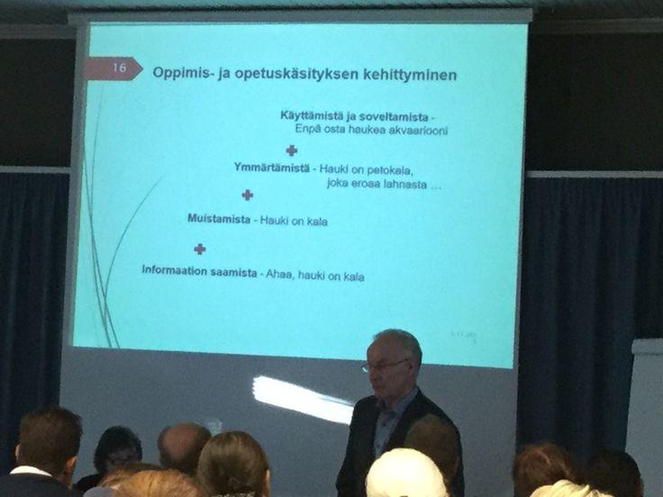 Veijo Turpeisen mietteitä oppimisesta Horeca-päiviltä Tampereelta 2015
