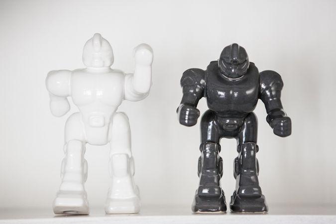 Robot Decor, the men love it! www.littlehoneypot.co.za