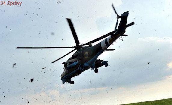 Na Ukrajině se zřítil vrtulník, pět mrtvých
