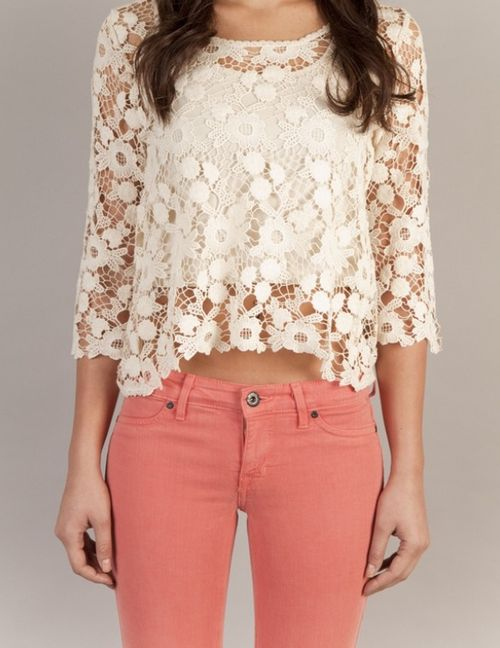 always loving lace tops! what about you guys??