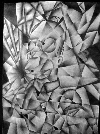 how to draw analytical cubism easy