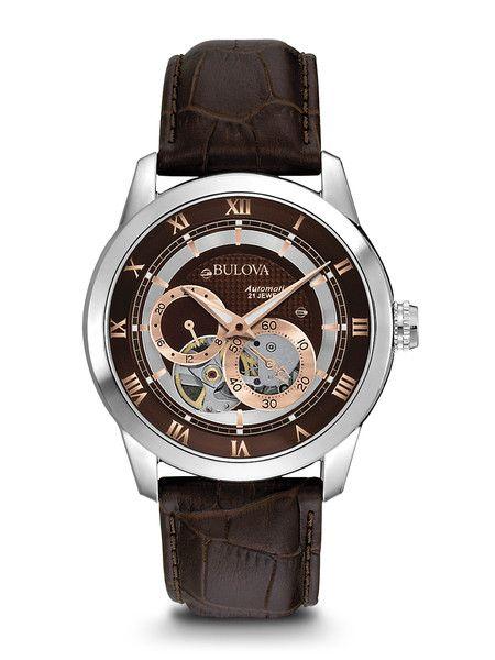 Bulova 96A120 Men's Automatic Watch | Bulova