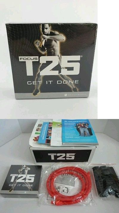 Fitness DVDs 109130: Hot New Beachbody Sean T S $Focus #T25 Workout Set Sealed Dvds Complete Base Kit -> BUY IT NOW ONLY: $46.98 on eBay!