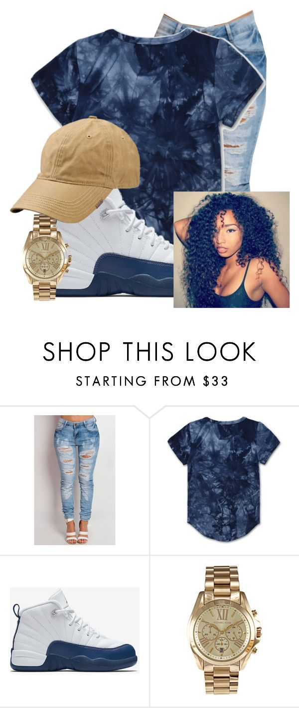 """""""Untitled #162"""" by brooklynnmckenna ❤ liked on Polyvore featuring Haus of JR, NIKE and Michael Kors"""