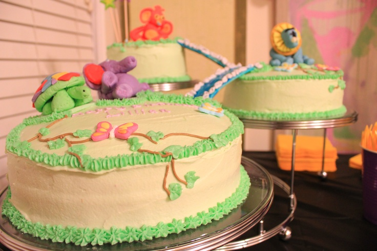 Tinga Tinga Tales Birthday Cake Safari Theme