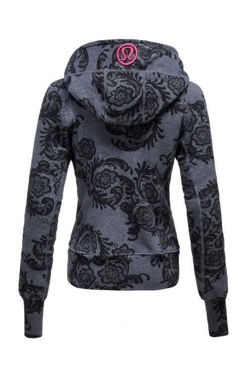 Lululemon scuba hoodie. Omg I love this pattern!!!!! Wish it was still around!