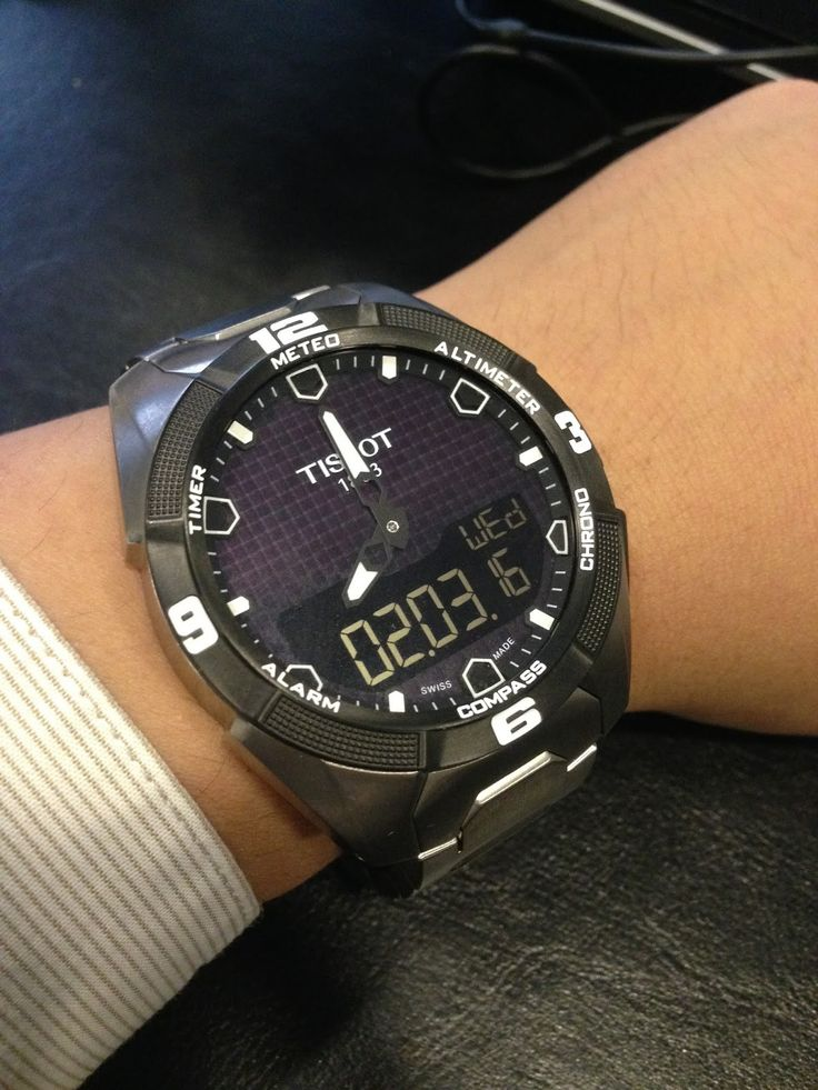 A+Fornight+Review:+2+Weeks+With+The+Tissot+T-Touch+Expert+Solar+Titanium+T091.420.44.051.00+Watch