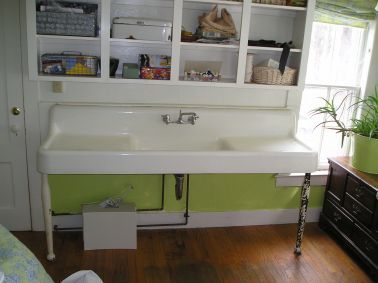 17 Images About Double Drainboard Sinks On Pinterest