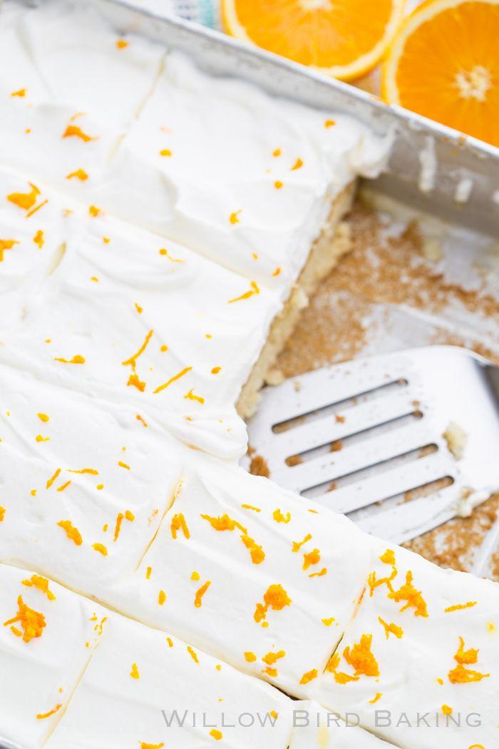 Creamsicle Blattkuchen   – Recipes