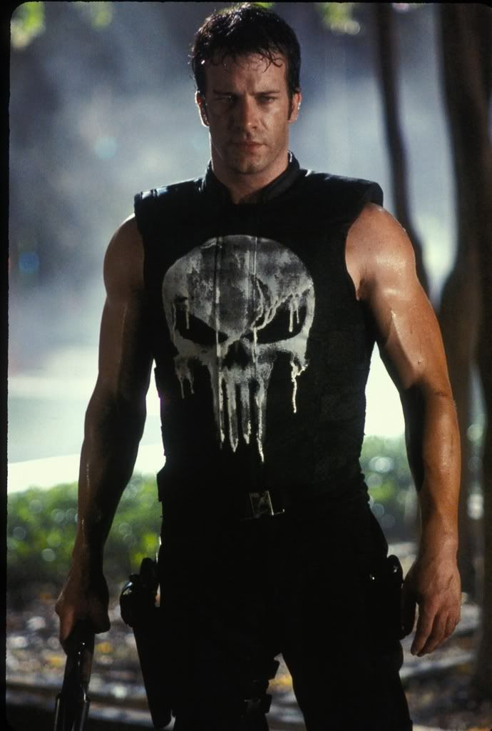 Thomas Jane: He played Punisher in the 2004 film and reprized the role in a short film last year titled Dirty Laundry. Description from comicaper.blogspot.co.uk. I searched for this on bing.com/images