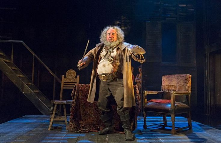 "Antony Sher in ""Henry IV, Part 1,"" a Royal Shakespeare Company production at the Brooklyn Academy of Music. (Photo by Richard Termine)"