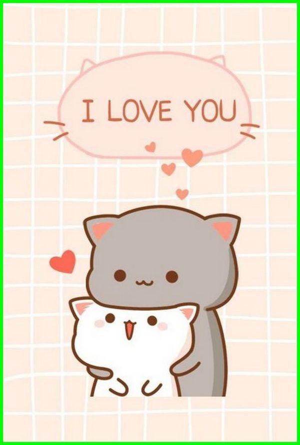 Gambar Kucing Lucu Dan Imut Banget Kartun godean.web.id