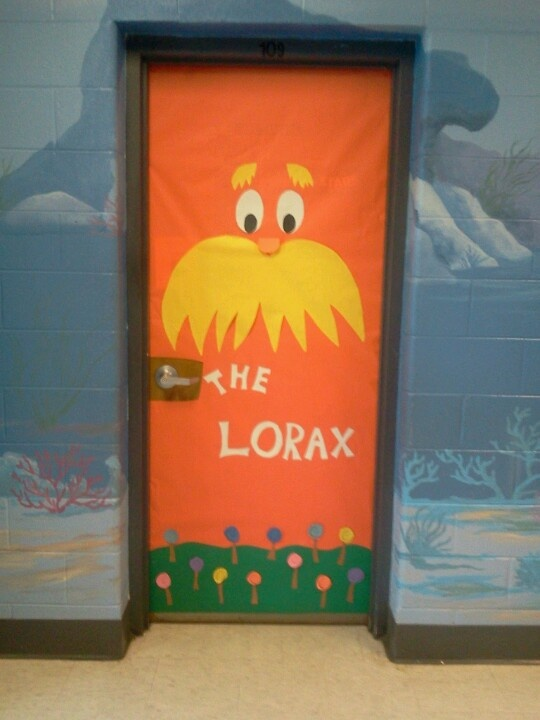 Lorax Classroom Decor ~ Best images about classroom door on pinterest