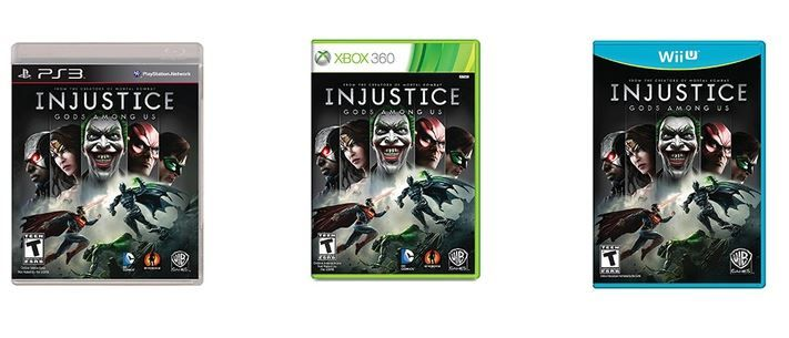 Injustice: Gods Among Us (Xbox 360, PS3, or Wii U) $17.99!