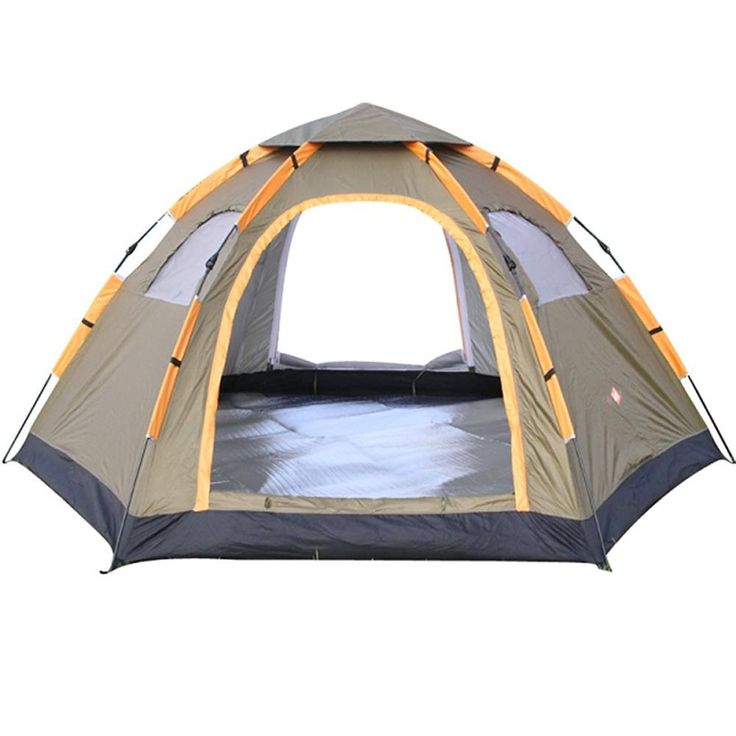 Instant Family Tent - 6 Person Large Automatic Pop Up Waterproof Tent