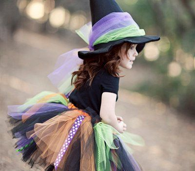 Halloween witch costume by Bella Bow Girls on Etsy