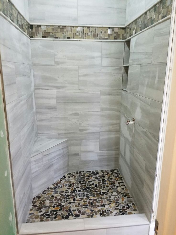 1000 ideas about river rock shower on pinterest rock