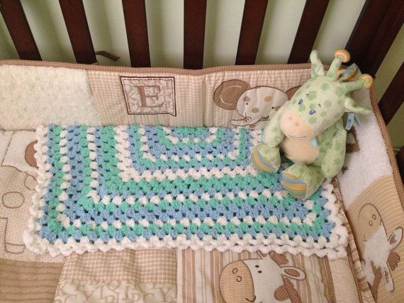 Baby and Toddler Pram and Bassinet  Blankets by BabysPreciousGifts, $35.00