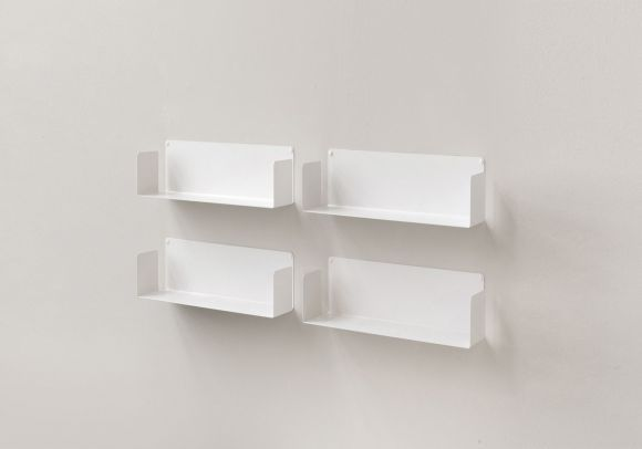 Floating Shelves 45 Cm Set Of 4 In 2020 Floating Wall Shelves