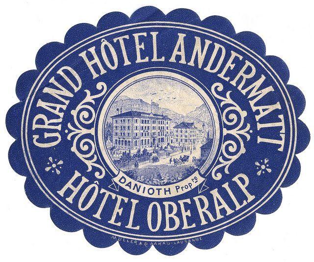 Hotel etiqueta