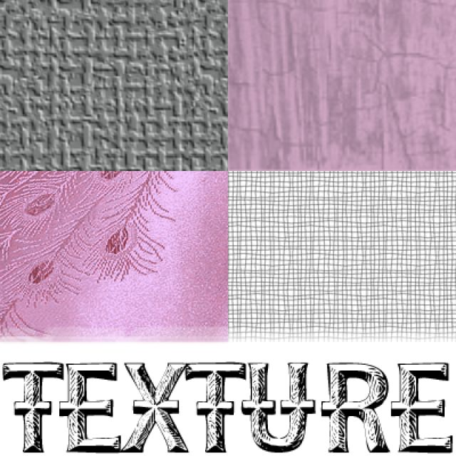 How's it feel? What is texture in desktop publishing?: Texture can be smooth, rought, tactile, or visual