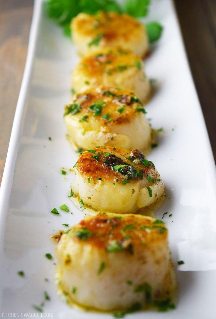 Pan-Seared Scallops with Lemon Butter Recipe