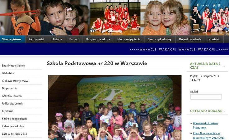 Szkoła Podstawowa nr 220 im. Stanisława Kopczyńskiego w Warszawie również znalazła się w gronie szkół eksperckich.