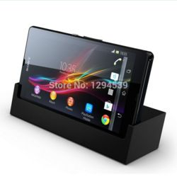Online Shop Black Desktop Dock Sync Cradle DK26 Charger For Sony Xperia Z|Aliexpress Mobile