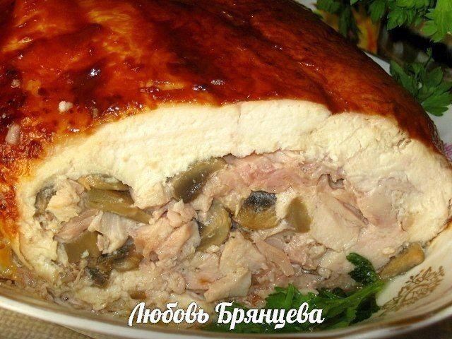 Домашняя ветчина из курицы рецепт с фото